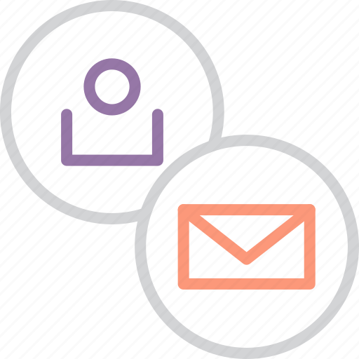 account, communication, customer, letter, mail, message, user icon