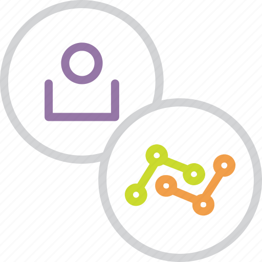 account, analysis, analytics, customer, statistics, stats, user icon
