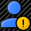 alert, user, account, profile