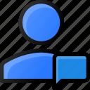 chat, user, account, profile, massage