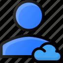 cloud, user, account, profile