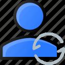 refresh, user, reload, account, profile