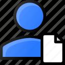 user, document, info, account, profile