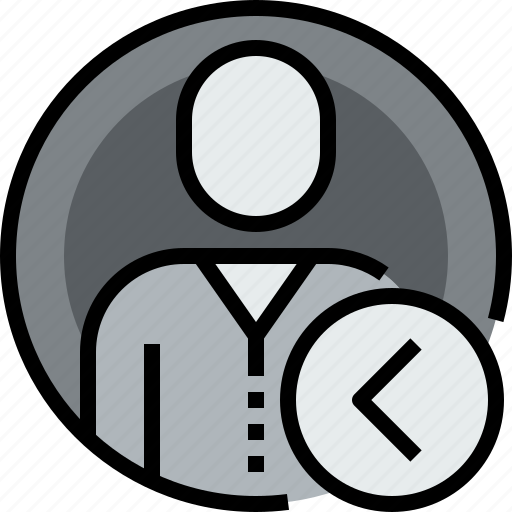 admin, avatar, circle, face, left, person, user icon
