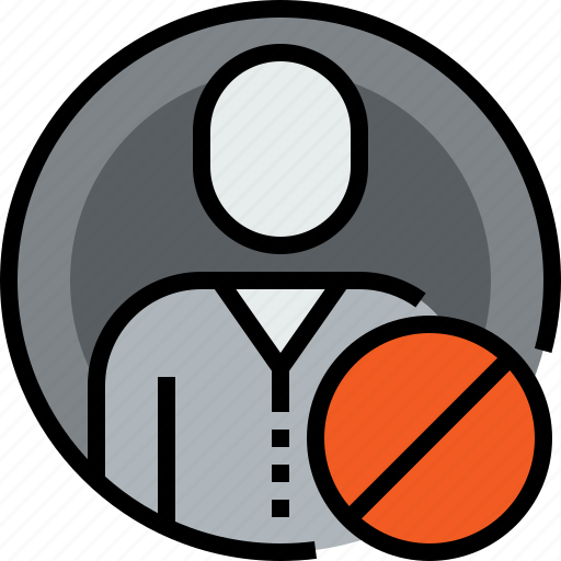 admin, avatar, circle, face, person, user, x icon
