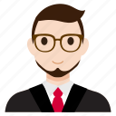 avatar, business, male, man, office, suit, user