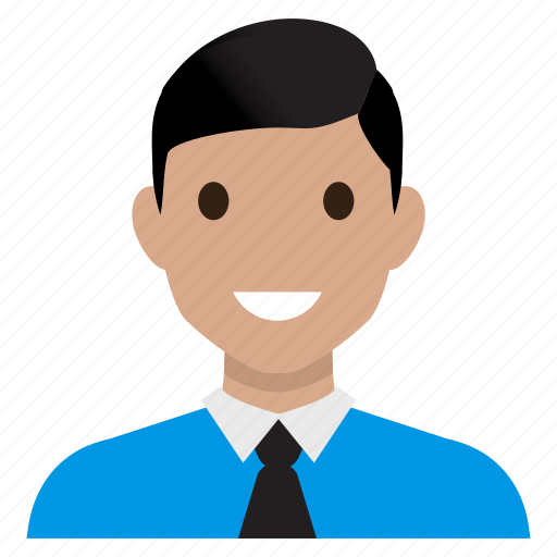 avatar, business, male, man, office, suit, user icon