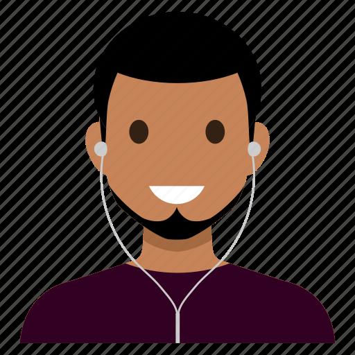 avatar, cool, handsome, male, man, sportsman, user icon