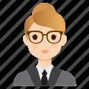 business, female, girl, lady, teacher, user, woman
