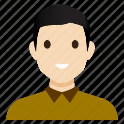 avatar, boy, guy, male, man, pupil, user icon