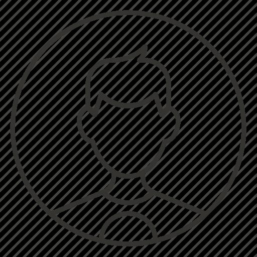 avatar, boy, male, man, profile, teen, user icon