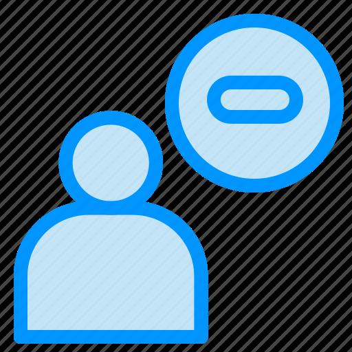 less, male, man, user icon