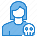 avatar, female, hacker, profile, user