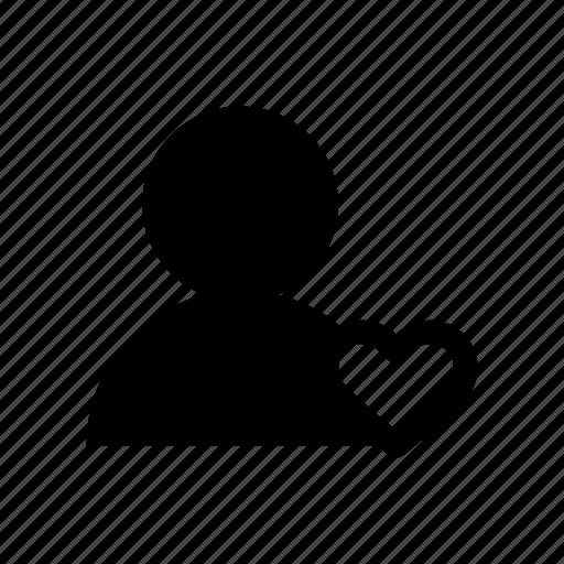 account, love, person, profile, user icon