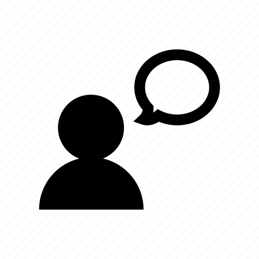 account, chat, communication, profile, talk, user icon