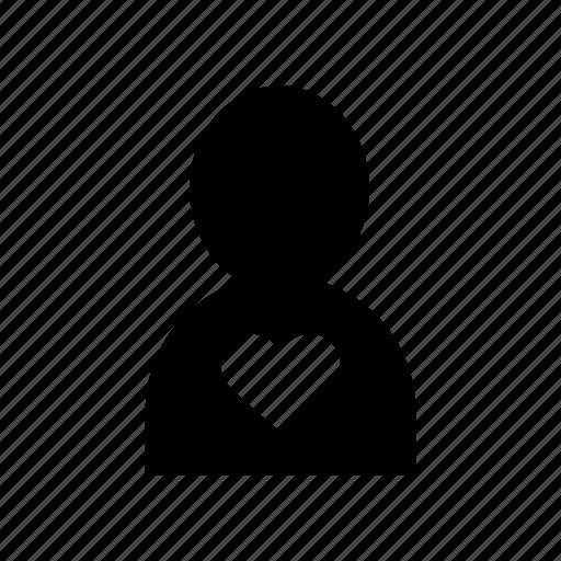 account, avatar, heart, love, profile, user icon