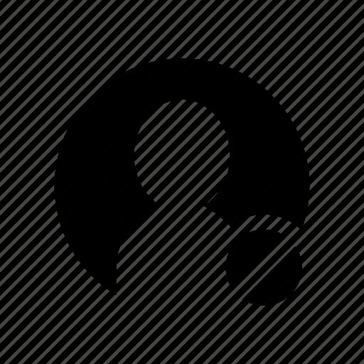 account, denied, person, profile, user icon