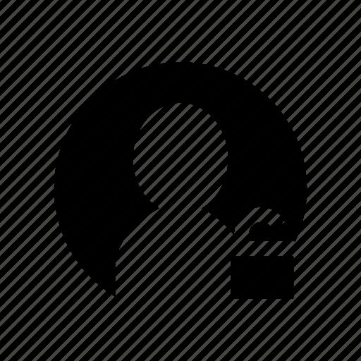 account, person, profile, unblock, unlock, user icon