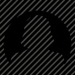 avatar, human, person, profile, user, woman icon