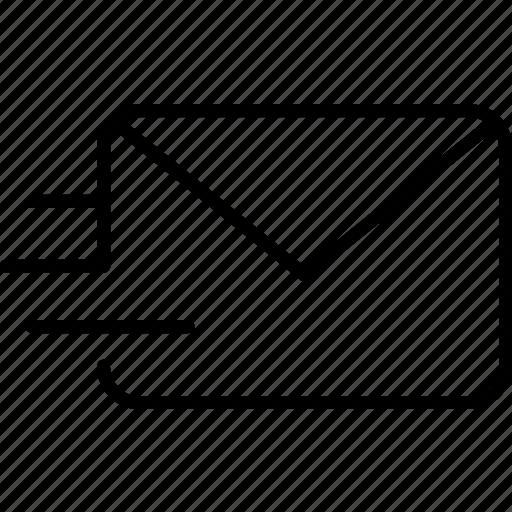 conversation, email, envelope, letter, mail, message, send icon