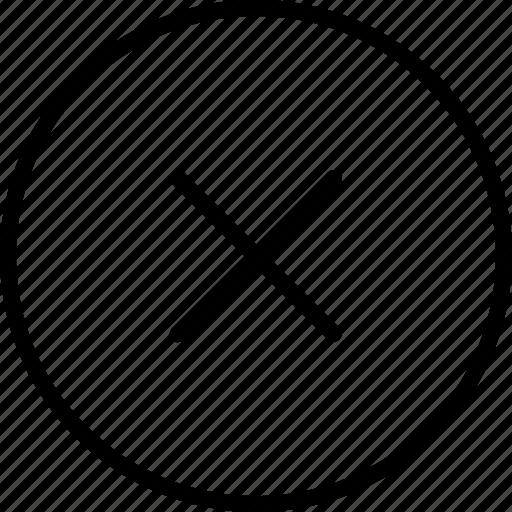 arrows, cancel, close, left, remove, road, sign icon