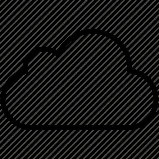 business, cloud, cloudy, computing, forecast, internet, rain icon