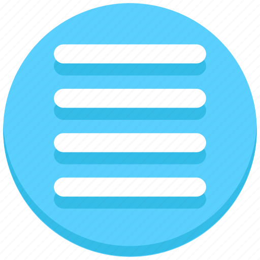 alignment, center, interface, text, user icon