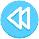 interface, music, previous, user icon