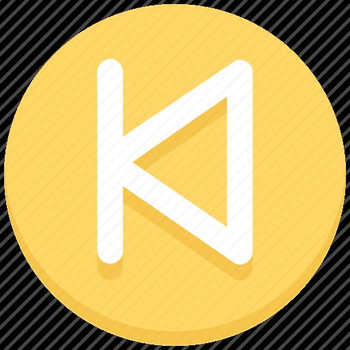 interface, media, previous, track, user icon