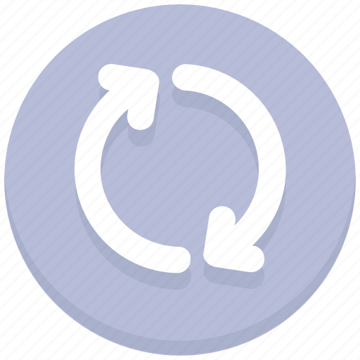 arrows, interface, reload, sync, user icon