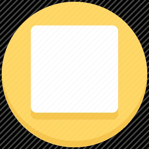 interface, media, stop, user icon