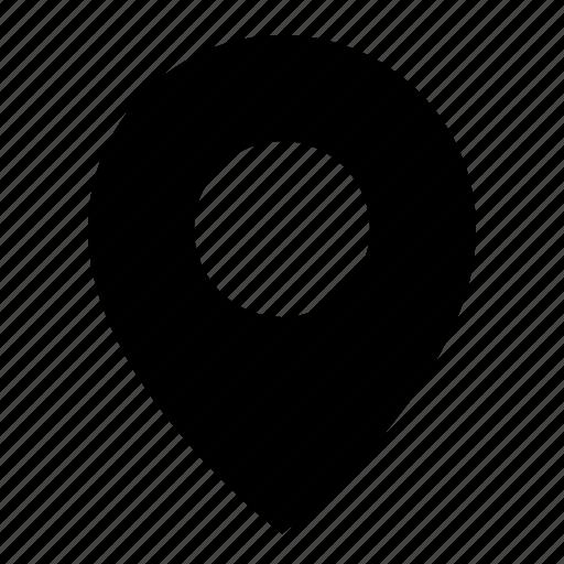 location, map, navigation, pin, ui icon