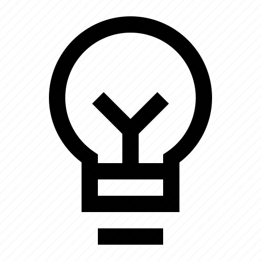 bulb, idea, innovation, lamp, ui icon