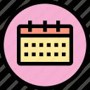 calendar, inteface, shape, ui icon
