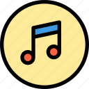 inteface, music, shape, song, ui icon