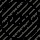 inteface, shape, sound, ui icon