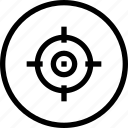inteface, shape, target, ui icon