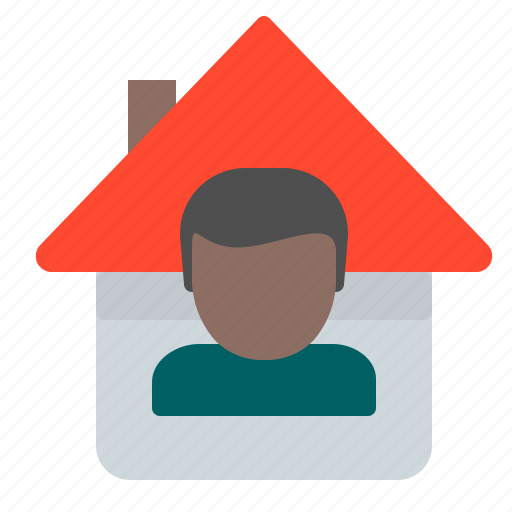 head, home, house, profile, user icon