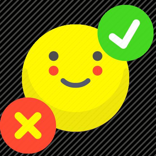 choose, decision, marks, option icon