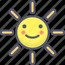 bright, brightness, edit, sun, weather icon