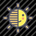 app, brightness, contrast, edit, photo icon