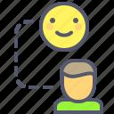 emotion, feelings, send, transmit icon