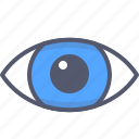 blindness, eye, medical, vision icon