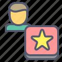 fav, favorite, like, star icon
