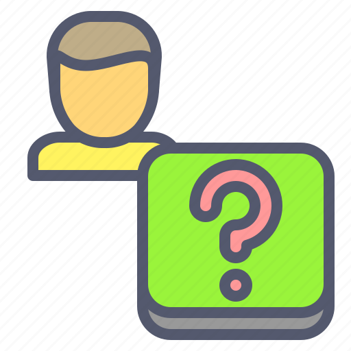 form, help, mark, question icon