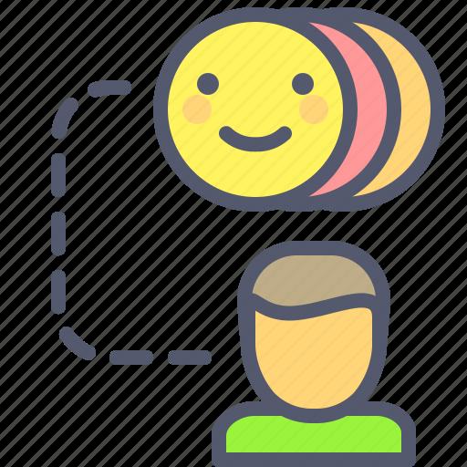 emoji, emotions, feelings, transfer icon
