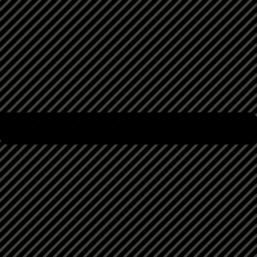 decrease, less, minus, remove, shrink icon