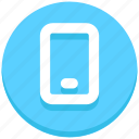interface, mobile, phone, smartphone, user icon