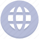 globe, interface, user, world icon