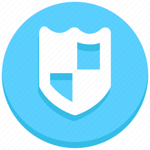 interface, protection, shield, user icon
